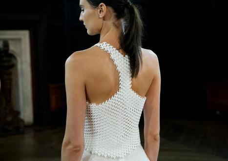 Bradley Rothenberg Brings Unique 3D Printed Textiles to NY Fashion Week | Digital Design and Manufacturing | Scoop.it