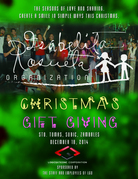 IROG Christmas Gift Giving | IROG( Isabelita Rosueta Organization) | Scoop.it