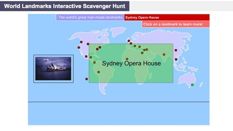 World Landmarks Interactive Scavenger Hunt « | A Sense of Place - HSIE Stage 2 | Scoop.it