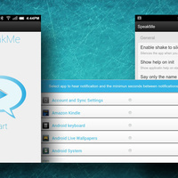 SpeakMe for Android Speaks Notifications Aloud, Lets You Choose Which Apps Get to Talk | Digital-News on Scoop.it today | Scoop.it