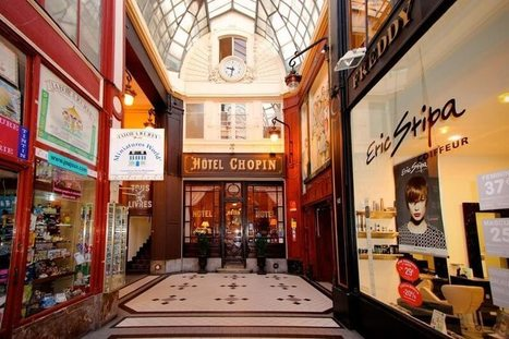Hotel Chopin, een verborgen pareltje in Parijs. | Bruidsfotografie | Scoop.it