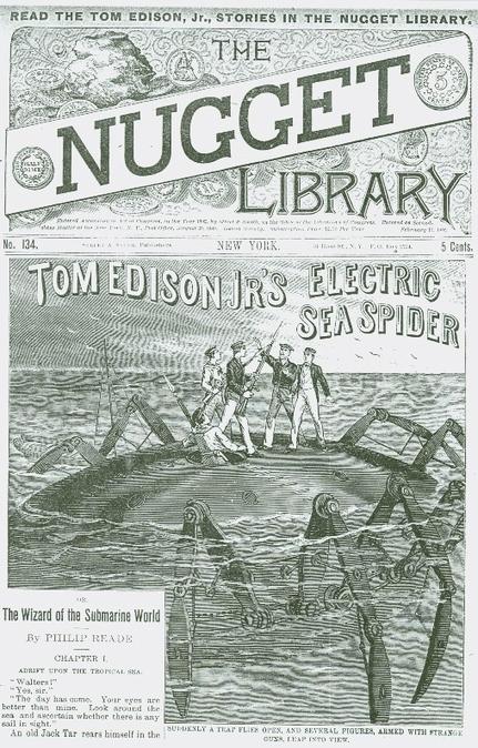 Tom Edison Jr's Electric Sea Spider | Paraliteraturas + Pessoa, Borges e Lovecraft | Scoop.it