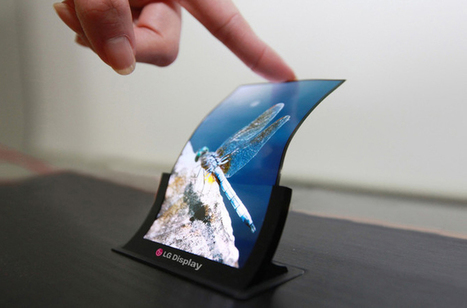LG is making 'bendable and unbreakable' OLED display, for useless curved smartphone | VIM | Scoop.it