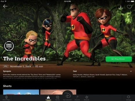 Disney Movies Anywhere : Mickey lance sa plate-forme de VOD | Geek in your face | Scoop.it