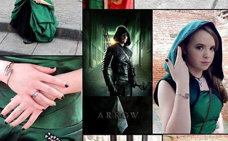 Stephen Amell shares fan photo of awesome 'Arrow' themed prom dress | ARROWTV | Scoop.it