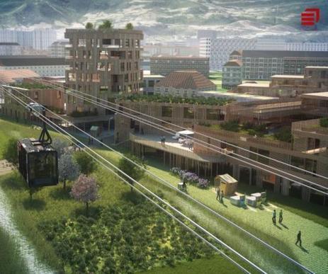 Vélizy veut un téléphérique pour rallier le pont de Sèvres | EIVP - Ecole des Ingénieurs de la Ville de Paris | Scoop.it