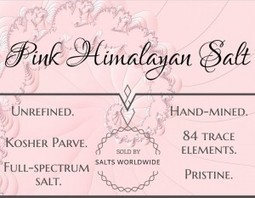 What is Himalayan Salt? | Salts Worldwide | Scoop.it
