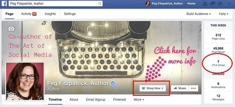 How to Use Facebook's NEW Call-to-Action Button to Bring In the Benjamins | Social Media Is Dead, NOT | Scoop.it