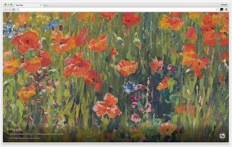 Extensión Google Art Project para Chrome muestra una obra de arte de artistas famosos en cada pestaña | GeeksRoom | Enseñar Geografía e Historia en Secundaria | Scoop.it