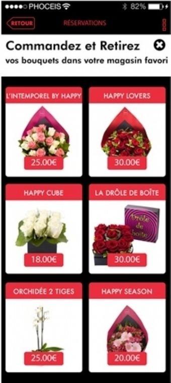 Emova Group (ex Monceau Fleurs) lance des applis mobiles pour chacune de ses enseignes   Digital Retail   Scoop.it