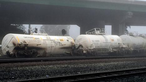 Martinez: Train derailment near Benicia Bridge rekindles safety fears along East Bay's refinery belt | Railway's derailments and accidents | Scoop.it