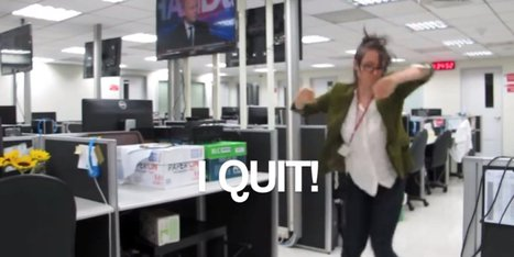 Humour WATCH: This May Be The Coolest Way Ever To Quit Your Job | Interesting Reading to learn English -intermediate - advanced (B1, B2, C1,) | Scoop.it