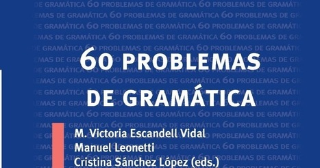 Libros y materiales educativos: 60 Problemas de Gramática | Educacion, ecologia y TIC | Scoop.it