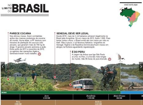 No limite do Brasil: conheça melhor as fronteiras do país | Educational Innovations | Scoop.it