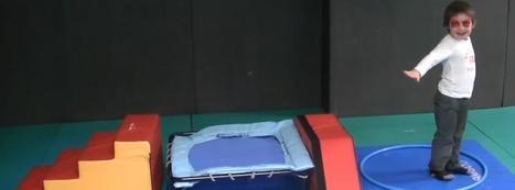 Exercices de sauts pour enfants de 3 à 5 ans, maternelle: le trampoline | Actibloom Sport | Actibloom, Vidéos d'éveil au sport pour enfants | Scoop.it