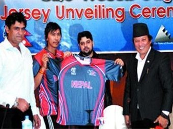 National cricket team of Nepal unveiled new Jersey | Googly Mania | Scoop.it