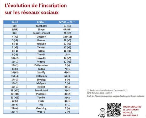 Comment les français utilisent-ils les réseaux sociaux en 2014 ...   Communication   Scoop.it