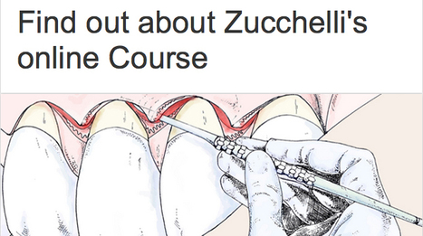 LEARNING NEWS - Find out about ZUCCHELLI'S ONLINE COURSE | Dental Implant and Bone Regeneration | Scoop.it