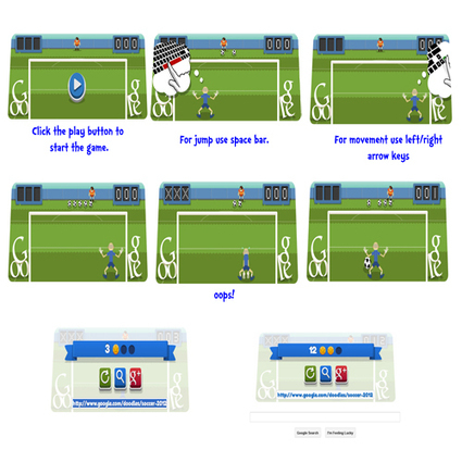 London 2012 FootBall - An interactive animated Google Doodle | RtoZ Social Media News | London 2012 olympics Doodle | Scoop.it