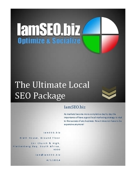 The Ultimate Local SEO Package | Local SEO Marketing | IamSEO.biz - PDF | Free Ebooks | Scoop.it