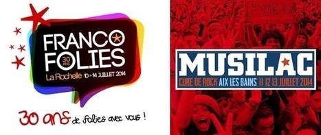 Comparatif Festivals Français 2014 | Francofolies de la Rochelle vs. Musilac | WebZeen | Actualité de la musique sur le Web | WebZeen | Scoop.it