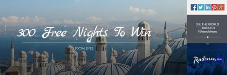 Where to Stay in Cebu: Social Eyes- Share Travel Insights and Win one of 300 Free Room Nights at the Radisson Blu Hotel of your choice Worldwide!   goodies   Scoop.it