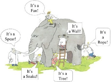 Learning metaphor - understanding of an elephant based on Instructivism, Constructivism and #Connectivism | Educational Leadership and Technology | Scoop.it
