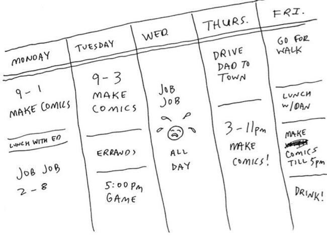 Writer's Block: A Cartoonist's Guide – cartoonstudies | Redacción de contenidos, artículos seleccionados por Eva Sanagustin | Scoop.it