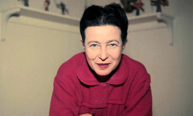 "Simone de Beauvoir Explains ""Why I'm a Feminist"" in a Rare TV Interview (1975) 