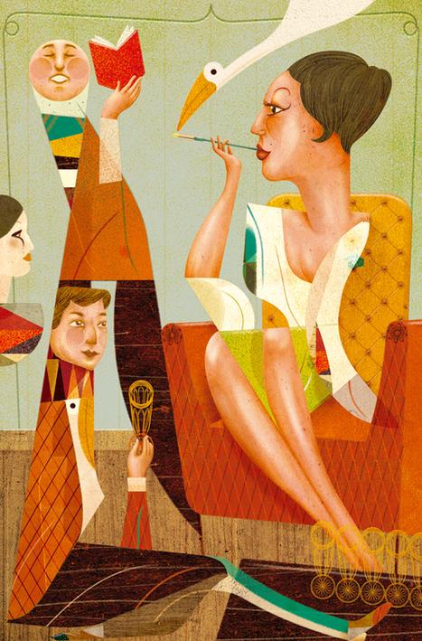 Illustration from Portugese Designer Goncalo Viana | Design Juices | Visual Inspiration | Scoop.it