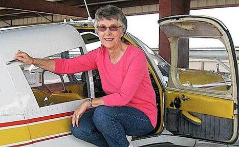 Former Tilden woman earns spot in state aviators hall of fame - Norfolk Daily News | Get a airframe and powerplant license, and start a career for a future. | Scoop.it