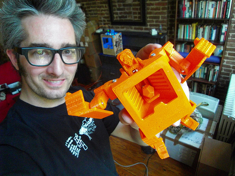 Makerbot and the impact of personal 3D printing | 3dprinted | Scoop.it