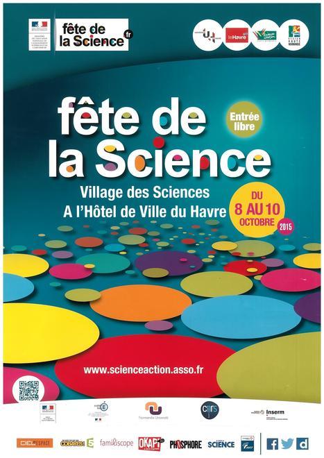 Du 8 au 10/10, RV au stand de la centrale @EDF_Le_Havre au Village des Sciences ! | Centrale thermique EDF du Havre | Scoop.it