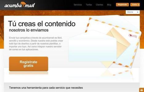 Acumbamail: una de las mejores plataformas de email marketing | Aplicaciones y Herramientas . Software de Diseño | Scoop.it