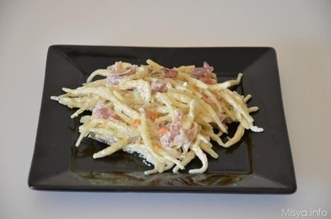 Ricetta Pasta speck e Philadelphia - Ricetta di Misya | Ricette di cucina interessanti | Scoop.it