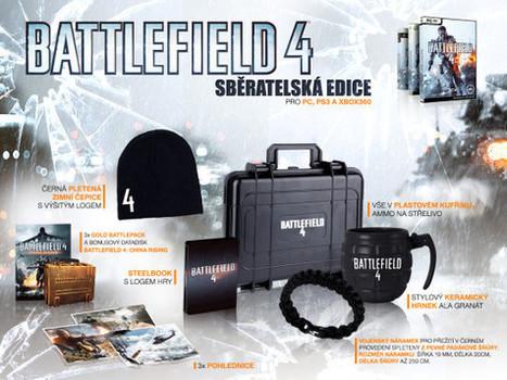Soutěž o Sběratelskou edici Battlefieldu 4 | Battlefield 4 novinky | Scoop.it