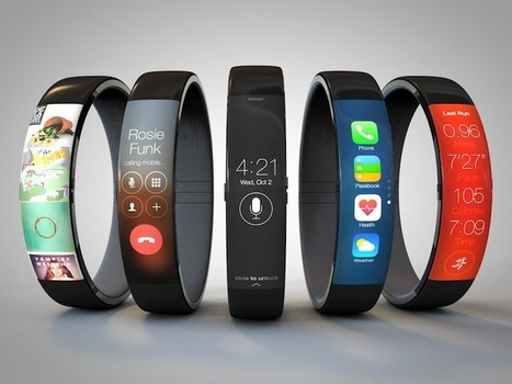 New Apple iWatch Concept Like Nike's FuelBand Runs iOS 7 | iWatch Tech | Machinimania | Scoop.it