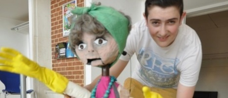 Students create puppetry magic for children - Students create puppetry magic for children | Gazelle Student Impact | Scoop.it