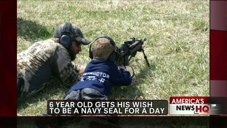 6-Year-Old With Rare Disorder Gets to Be Navy SEAL for a Day | metaphysics | Scoop.it