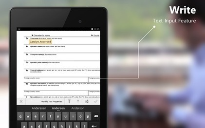ScanWritr: scanner,PDF,editor - Applications Android sur Google Play | Mobilt | Scoop.it