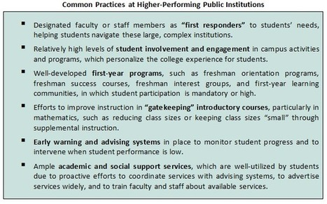 Best Practices in Improving Retention of Low-Income College Students   Hanover Research   Finish What You Start   Scoop.it
