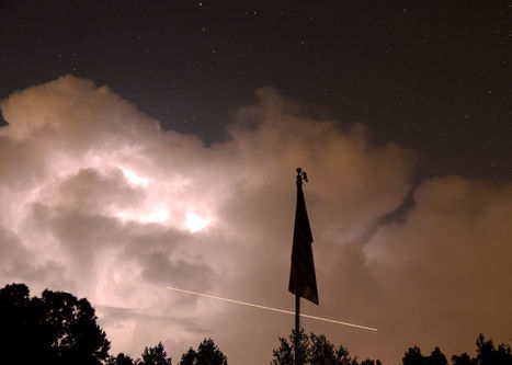 Thunderstorms block view of meteor shower over central Alabama | Outdoors Alabama | Scoop.it