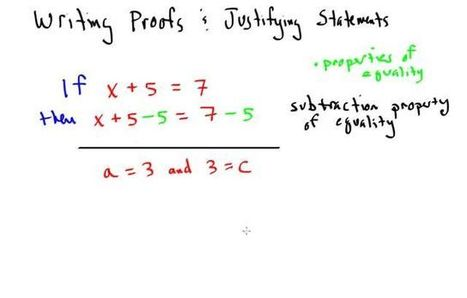 First day of Geometry proofs - Refining my process | Geometric Proofs | Scoop.it