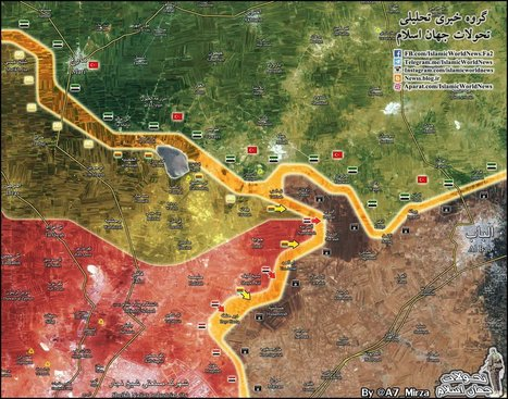 Overview of Military Situation in Aleppo City on November 25, 2016 | Geopolitics, Security | Scoop.it
