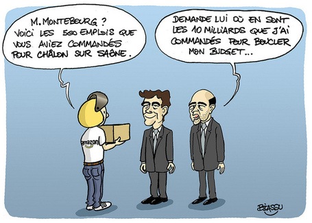 Montebourg reçoit Amazon | Photos de LYonenFrance | LYonenFrance | Scoop.it