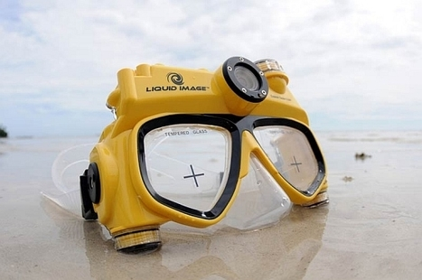 liquid image explorer series 8.0mp underwater camera mask | PhotoInk | For the love of Photography | Scoop.it