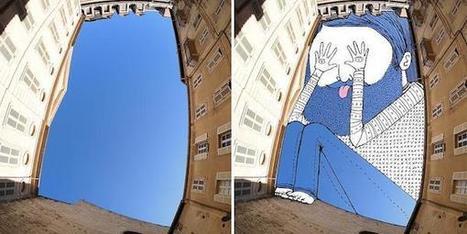 ¿Alguna vez has visto a un artista pintando el cielo? | Som Somni | Scoop.it