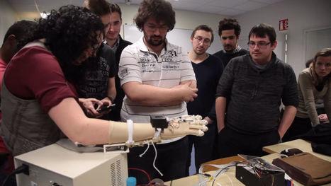 Print'Hand : un gant bionique imprimable en 3D et en open source | Prix OCIRP Handicap | Scoop.it