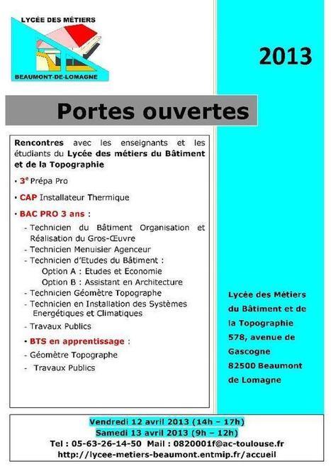 LYCEE PROFESSIONNEL BATIMENT ET TOPOGRAPHIE - Bienvenue sur le site du lycée | Formations concours écoles | Scoop.it