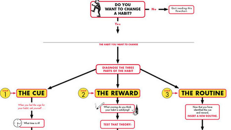 Change a Habit in Three Steps with This Flowchart | Change a habit | Scoop.it